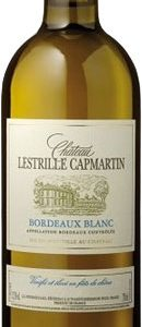 Chateau Lestrille Capmartin - Bordeaux Blanc 2016 75cl Bottle