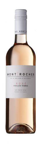 Mont Rocher - Grenache Vielles Vignes Rose IGP Pays d'Oc 2018 6x 75cl Bottles