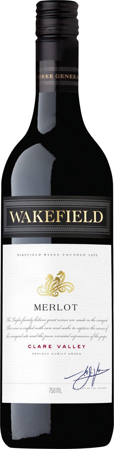 Wakefield Wines - Wakefield Estate Merlot 2016 6x 75cl Bottles