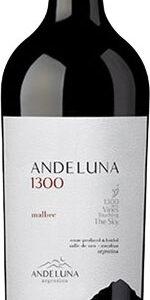 Andeluna 1300 - Malbec 2018 75cl Bottle