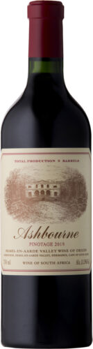 Ashbourne - Pinotage 2018 75cl Bottle