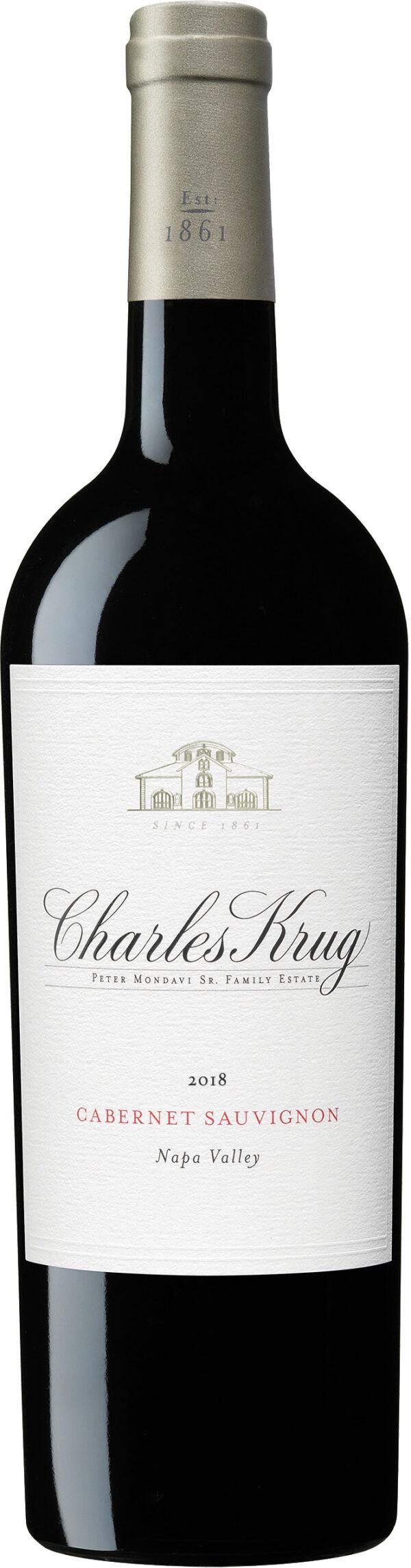 Charles Krug - Napa Valley Cabernet Sauvignon 2018 75cl Bottle